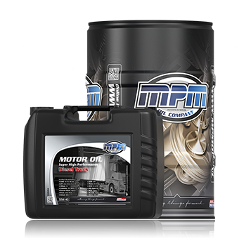 Motor Oil 10W-40 Super High Performance Diesel Truck