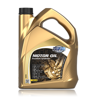 Motor Oil 5W-40 Premium Synthetic
