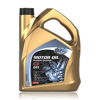 Motor Oil 5W-30 Premium Synthetic C3 DPF
